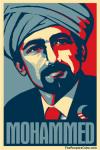 mohammed obama hope poster